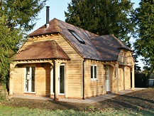 Oak framed garages and annexes in surrey sussex hampshire uk